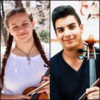 Katia Abdelkader violin &amp Ayoub Rabah cello