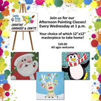 Holiday Afternoon Painting Classes