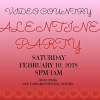 Video Country Valentines Party