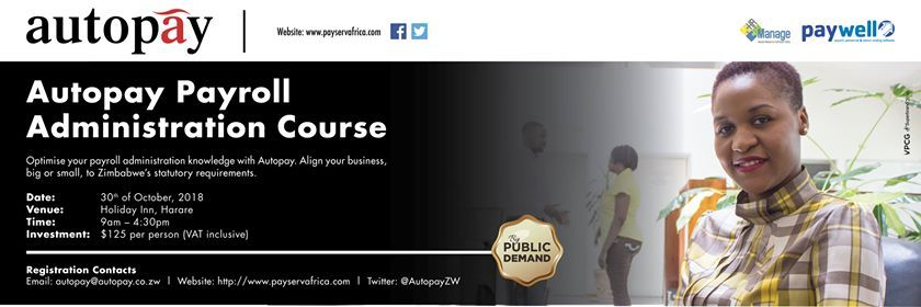 Autopay Payroll Administration Course