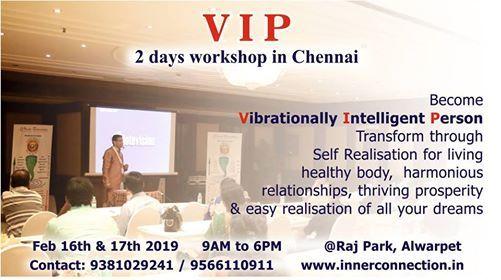 Vibrational Intelligence work shop