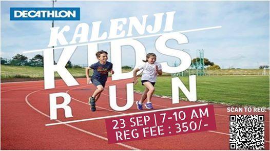 Kalenji Kids Run - 23rd Sep