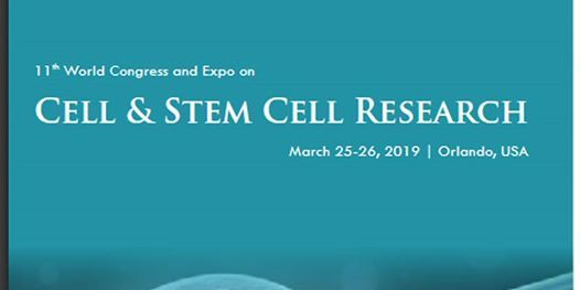 11th World Congress and Expo on Cell & Stem Cell Research (CSE) A