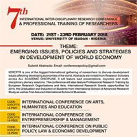 International Research Conf. &amp Professional Training of Research