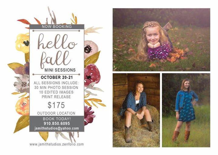 Zebulon fall mini photo session