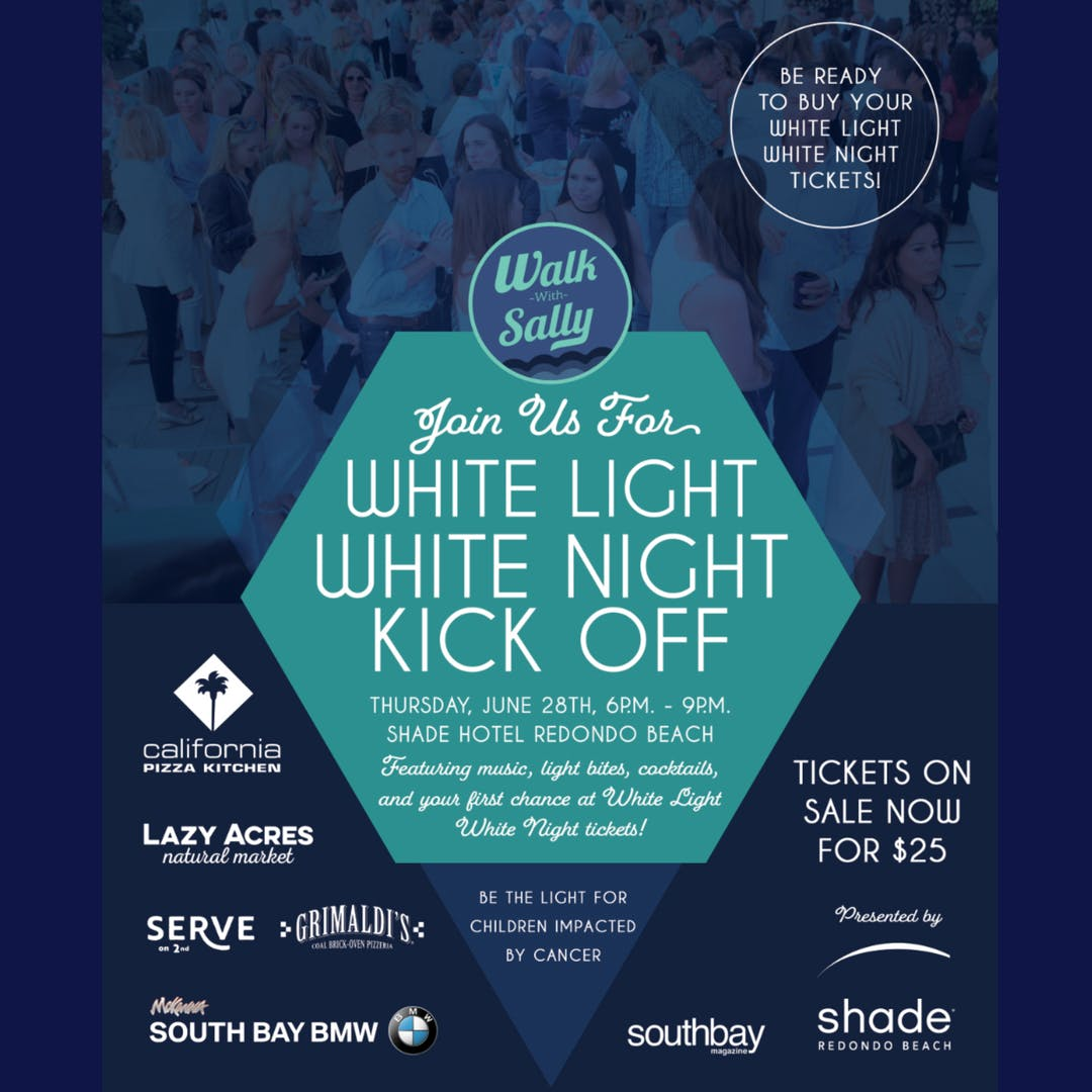 White Light White Night Kick-Off Party at Shade Hotel, Redondo Beach