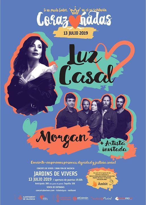 Luz Casal  Morgan- Corazonadas Valncia