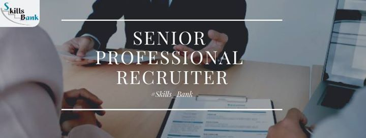 Senior Professional Recruiter
