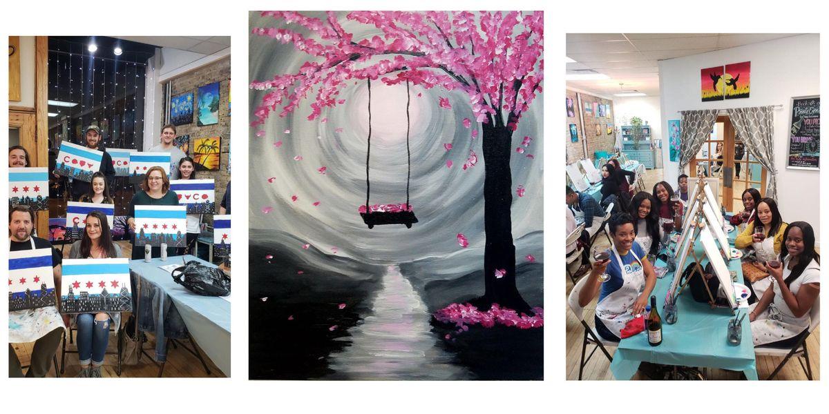 BYOB Sip & Paint Event - Tree Swing