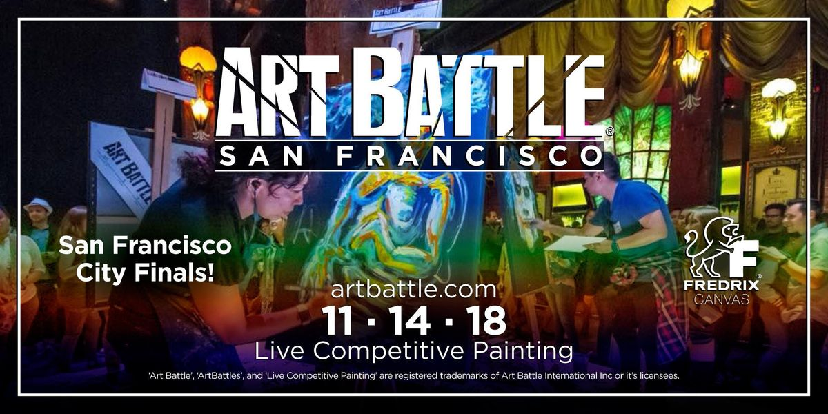 Art Battle San Francisco City Finals - November 14 2018