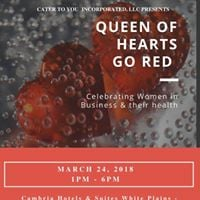 Queen Of Hearts Go Red Event