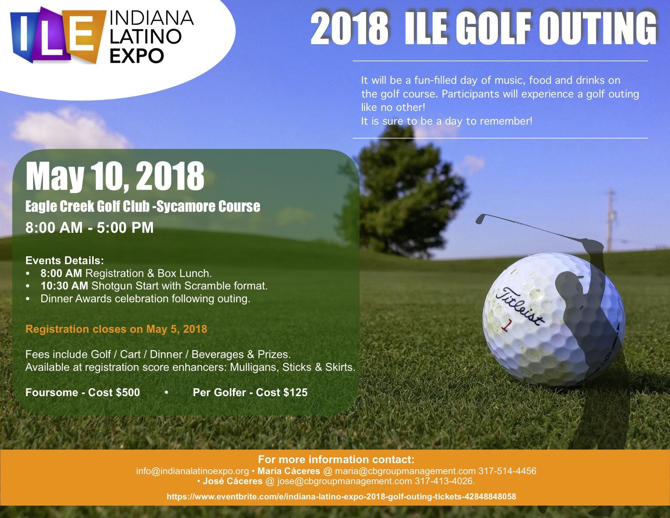 Indiana Latino Expo 2018 Golf Outing