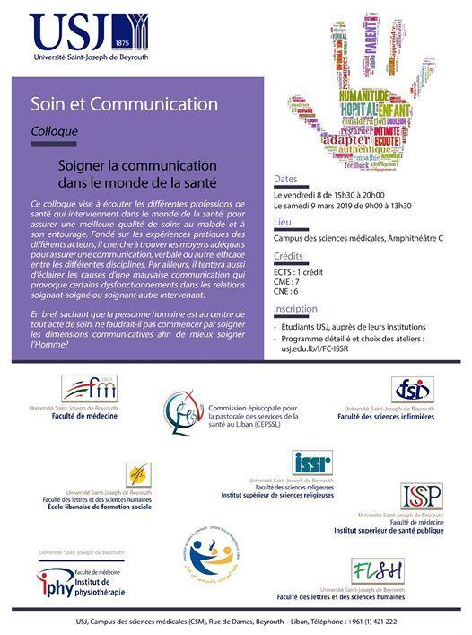 Colloque Soin et Communication