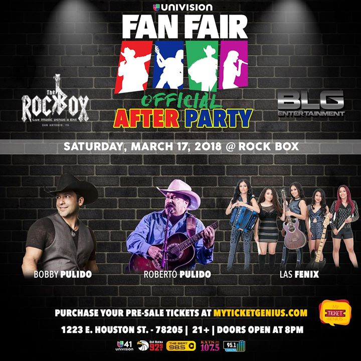 Saturday 3 17 Univision Fan Fair After Party At The Rock