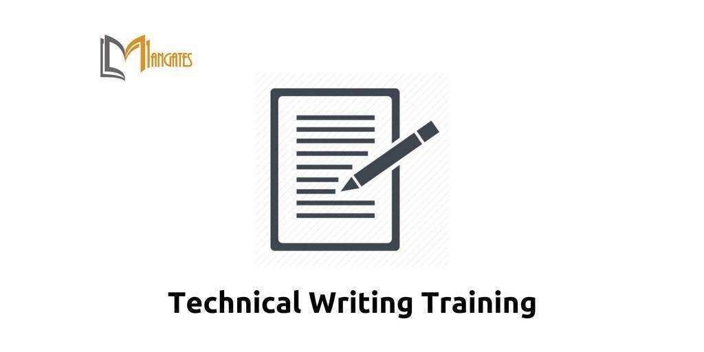 Technical Writing Training in Markham on Dec 10th-13th 2018
