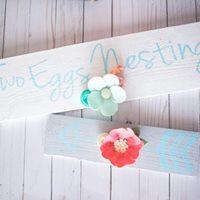 Make it - Take it Two Felt Flower Painted Arrows