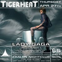 TigerHeat - Celebrate Lady Gagas &quotThe Cure&quot single release