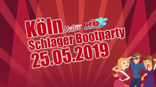 Mller Schlager Bootparty 25.05.2019