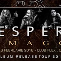 Vespera  Lansare album &quotImago&quot Club Flex