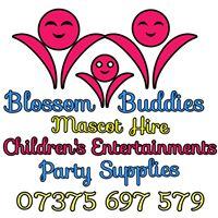 Blossom Buddies Mascot Hire