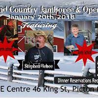 MillPond Country Jamboree &amp Open Mic Featuring Stephen Bebee
