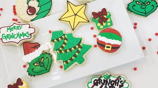 SOLD OUT Cookie Decorating Class  The Grinch