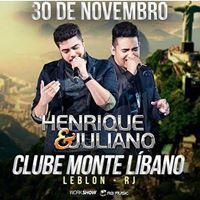 Henrique &amp Juliano no Monte Lbano