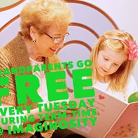 Grandparents go free at Imaginosity each term-time Tuesday