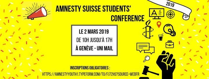 Amnesty Suisse Students Conference 2019 (ASSC)