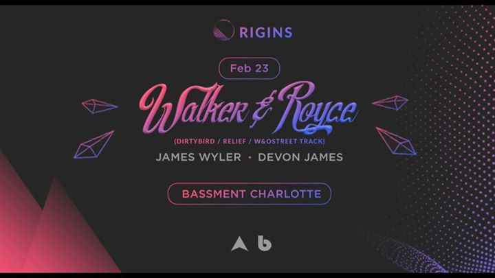 Origins Walker & Royce (Dirtybird  Relief) - Tomorrow Night