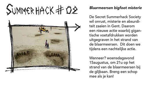 Summerhack II - Blaarmeersen Bigfoot misterie