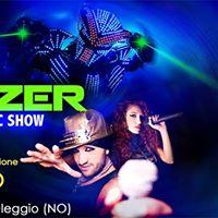 SHOWZER LIVE feat. Paolino radio 105  Oleggio (NO)