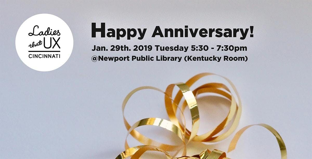Happy 1st Anniversary At Newport Public Library Kentucky Room Newport