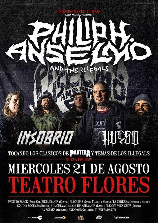 Philip H. Anselmo & The Illegals en Argentina 2020