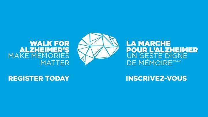 Walk for Alzheimer's Fredericton / La Marche pour l'Alzheimer