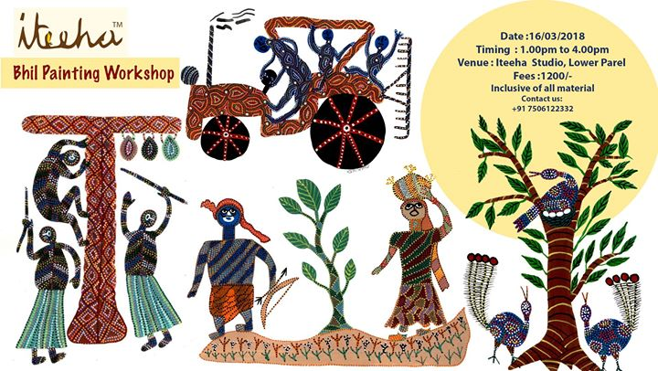Bhil Painting Workshop