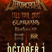 NMF Presents DeathCrown W Special Guests