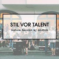 Stil vor Talent Instore Session w andhim