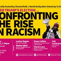 Chesterfield Stand Up To Racism Public Meeting