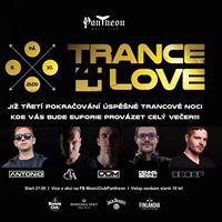 Trance 4 Love  Pantheon  6. 10.