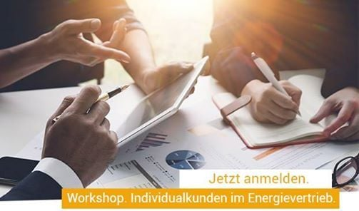 Workshop. Individualkunden Energie.