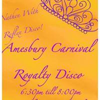Amesbury Carnival Royalty Disco 2017