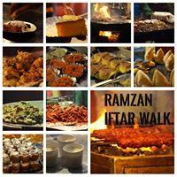 Ramzan Iftar walk in Frazer town.