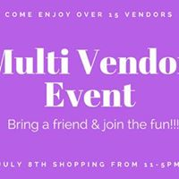 Shopping with over 15 vendors