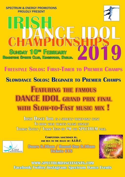 Irish Dance Idol Championships 2019
