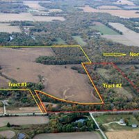 Real Estate Land Auction - Fayette County IL 150.61- Acres