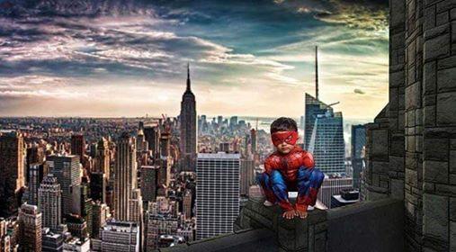 Super Hero pics w Mamaratzy