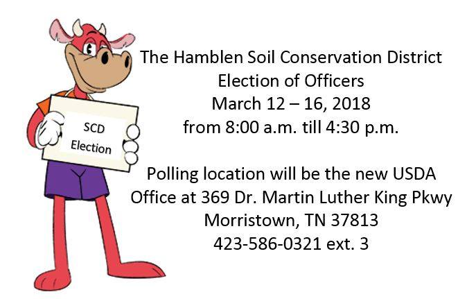 Hamblen SCD Election of Officers