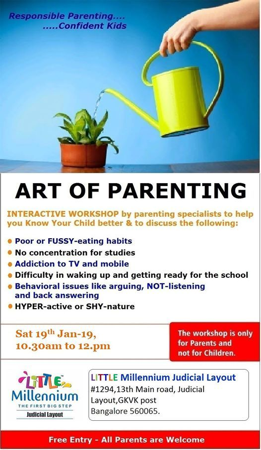 Art Of Parenting Workshop