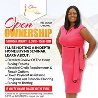 Open The Door To Home Ownership - Home Buying Seminar